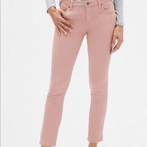 GAP denim Legging Light Pink Brand New